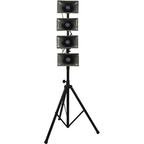 AmpliVox Sound Systems SW664 Mobile Line Array Hailer System
