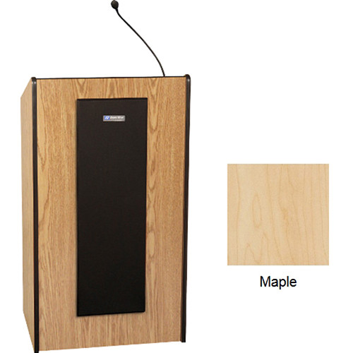 AmpliVox Sound Systems W450 Non-Sound Presidential Lectern (Maple)
