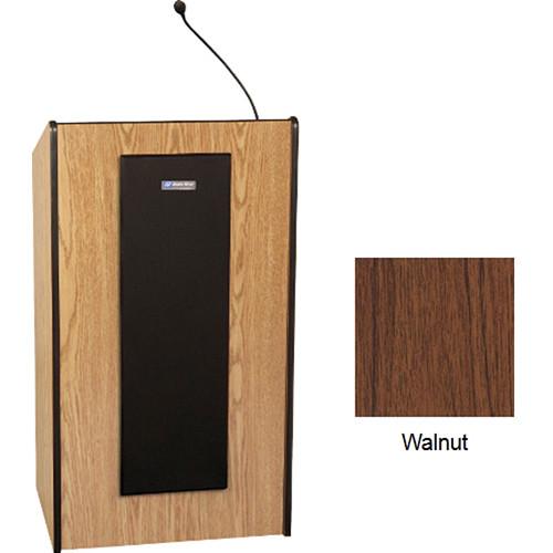 AmpliVox Sound Systems W450 Non-Sound Presidential Lectern (Walnut)