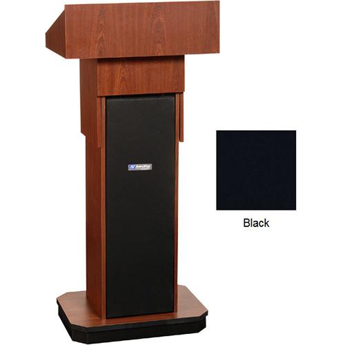 AmpliVox Sound Systems W505A Executive Adjustable Non-Sound Column Lectern (Black)