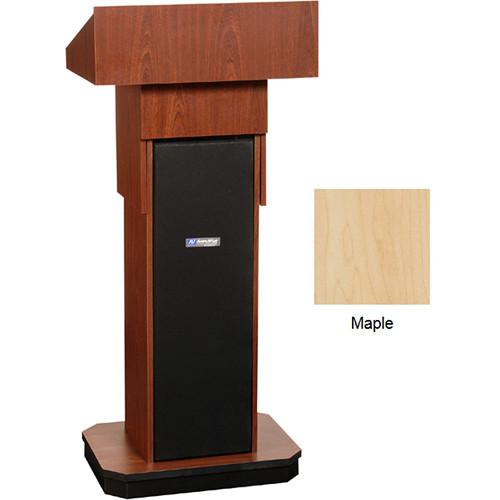 AmpliVox Sound Systems W505A Executive Adjustable Non-Sound Column Lectern (Maple)