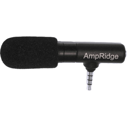 Ampridge MightyMic S iPhone Shotgun Video Microphone