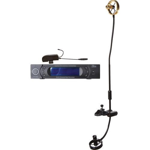 AMT TA2-5C Wi5IIC Clip-On Wireless System with TA2 Double Element Soprano Saxophone Microphone
