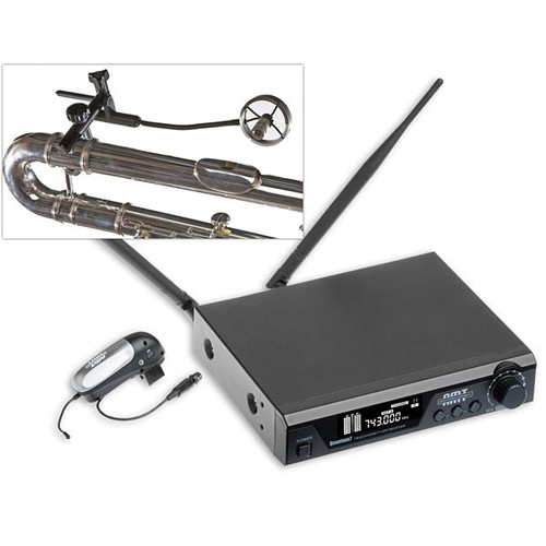 AMT Wireless Alto and Bass Flute Microphone System