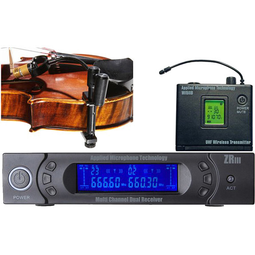 AMT VS-5B Beltpack Wireless Violin Microphone System