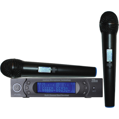 AMT Wi5IIV - Dual Wireless Vocal Microphone & Receiver System