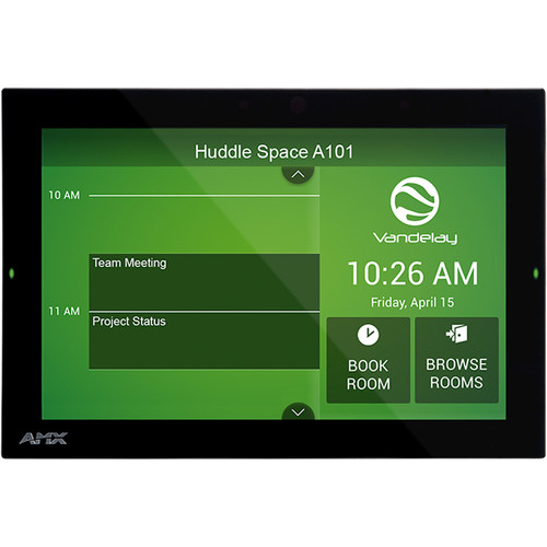 """AMX ACB-2110 Acendo Book 10.1"""" Scheduling Touch Panel"""