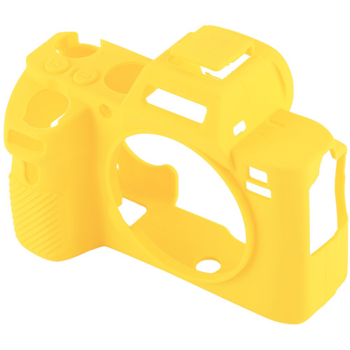 Amzer Soft Silicone Protective Case for Sony ILCE-7MII/7SMII/7RMII (Yellow)