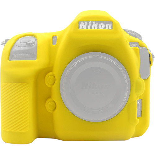 Amzer Soft Silicone Protective Case for Nikon D850 (Yellow)