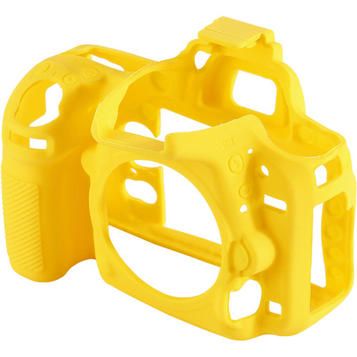 Amzer Soft Silicone Protective Case for Nikon D750 (Yellow)