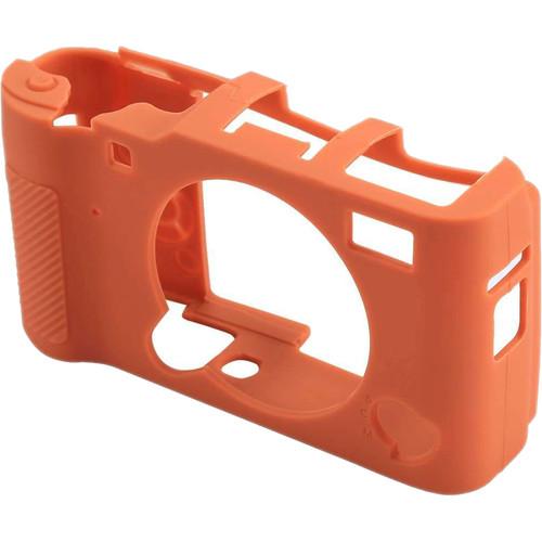 Amzer Soft Silicone Protective Case for Fujifilm X-A5 (Orange)