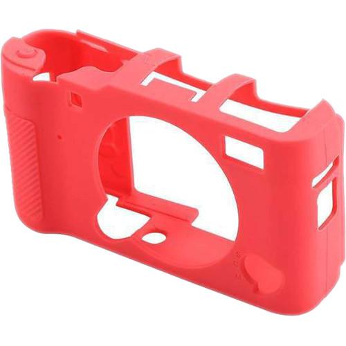 Amzer Soft Silicone Protective Case for Fujifilm X-A5 (Magenta)