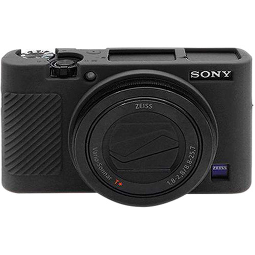 Amzer Soft Silicone Protective Case for Sony RX100 III, IV, V (Black)