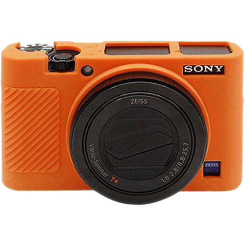 Amzer Soft Silicone Protective Case for Sony RX100 III, IV, V (Orange)