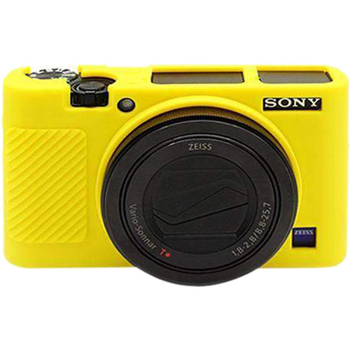 Amzer Soft Silicone Protective Case for Sony RX100 III, IV, V (Yellow)
