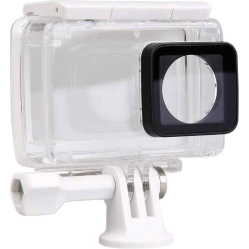 Amzer IP68 Waterproof Housing Protective Case With Buckle For Xiaomi Xiaoyi II 4K(White)