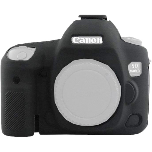 Amzer Soft Silicone Protective Case for Canon EOS 5D Mark IV (Black)