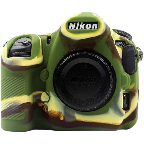Amzer Soft Silicone Protective Case for Nikon D850 (Camouflage)