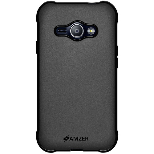 Amzer Pudding Case for Galaxy J1 Ace (Black)