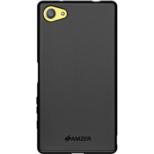 Amzer Pudding Case for Sony Xperia Z5 Compact (Black)