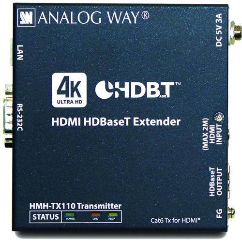 Analog Way HDMI HDBaseT 4K Extender Transmitter with HDCP 2.2