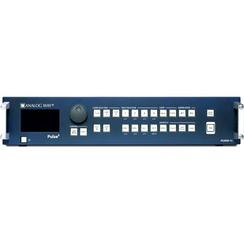 Analog Way PLS350-3G 8x1 3G/HD/SD-SDI Seamless Switcher/Mixer