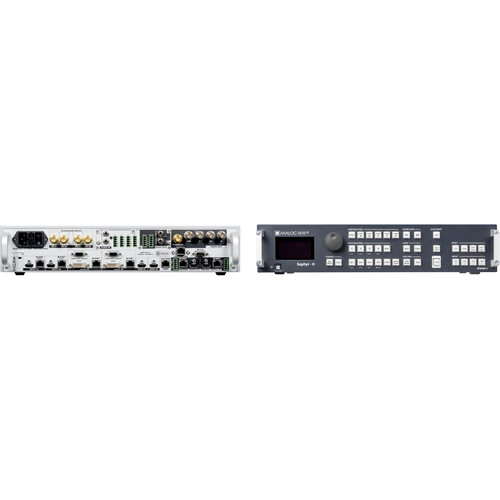 Analog Way 10-Input Hi-Resolution Mixer+Seamless Switcher with 4-HDBaseT INs + 2-Mirrored HDMI/HDBaset OutPuts
