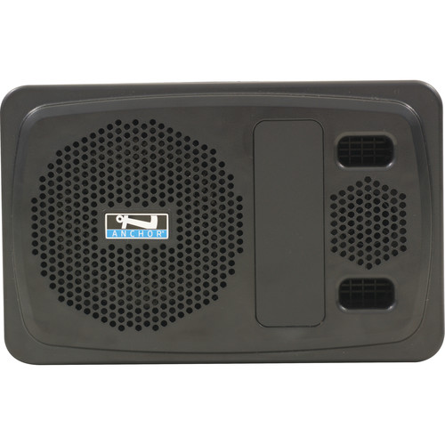 Anchor Audio AN-100CMU2+ Powered Speaker Monitor with Dual-Channel Receiver for CouncilMAN Conference System