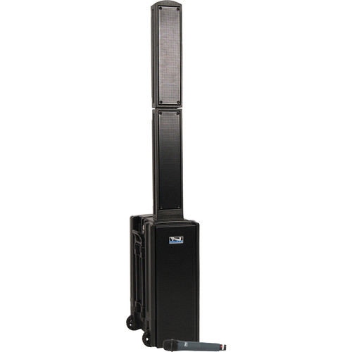 Anchor Audio BEA-BP Beacon Line Array Speaker Basic Package with Wireless Handheld Microphone