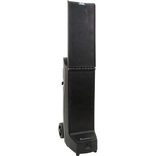 Anchor Audio BIG2-RU2 Bigfoot 2 Portable Line Array with Bluetooth, AIR Receiver & Dual Mic Receiver