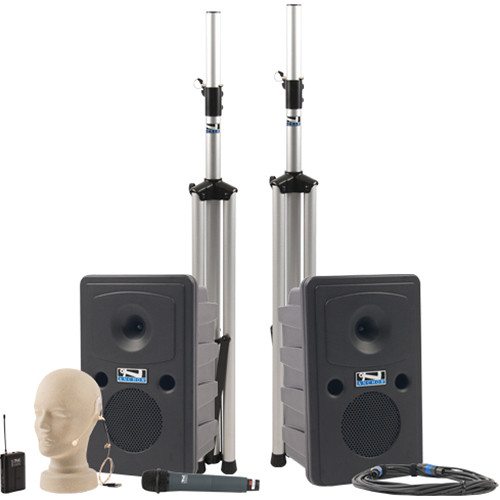 Anchor Audio Go Getter Deluxe Package with Wireless Handheld Microphone and Bluetooth