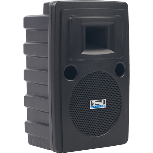 Anchor Audio LIB-8000C Liberty Platinum Speaker with Built-In CD/MP3 Combo Player & Bluetooth