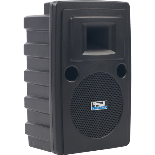 Anchor Audio LIB-8000CU2 Liberty Platinum Portable Sound System with CD/MP3 Player and Two Wireless Receivers