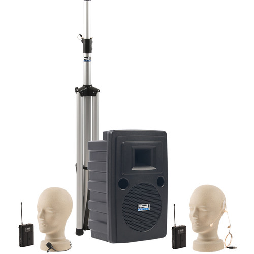 Anchor Audio LBP-8000 Liberty Platinum Basic Speaker Package with One UltraLite and One Lapel Mic