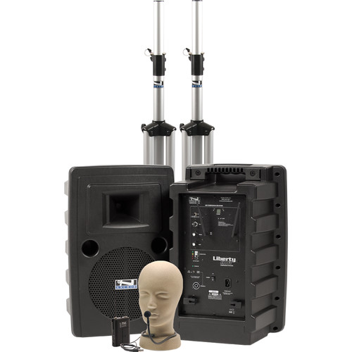 Anchor Audio Liberty Deluxe AIR PA Package with CM-60 Collar Mic