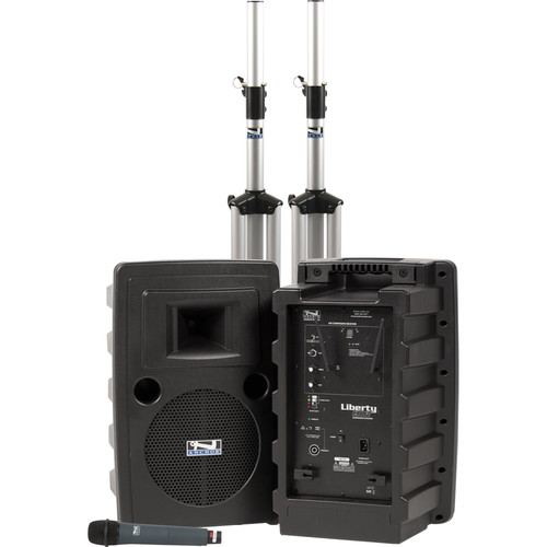 Anchor Audio Liberty Deluxe AIR PA Package with WH-8000 Wireless Handheld Mic