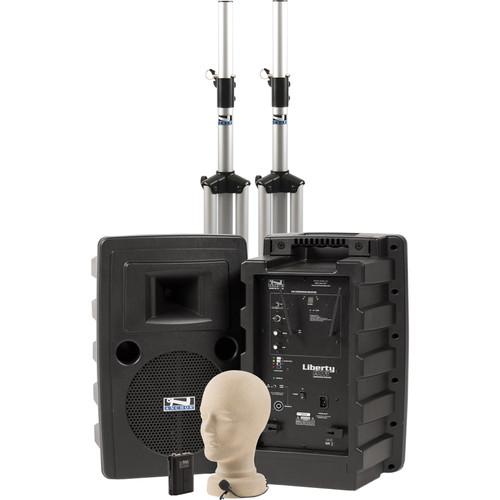 Anchor Audio Liberty Deluxe AIR PA Package with LM-60 Lapel Mic