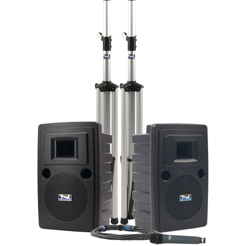 Anchor Audio Liberty Platinum Deluxe PA Package with WH-8000 Handheld Microphone (AC Only)