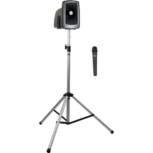 Anchor Audio MEGA-BP1-H MegaVox 2 Basic Package with Stand & One Wireless Handheld Microphone