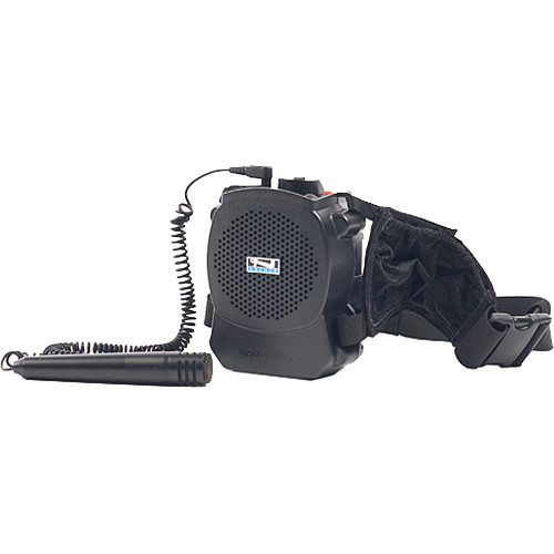 Anchor Audio RSM-7500 RescueMAN Personal PA System with Belt Strap for MIC-50 Handheld Microphone