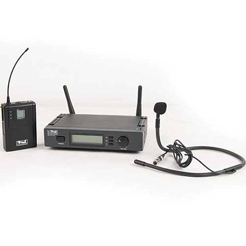 Anchor Audio UHF-7000 Wireless Microphone System with Collar Microphone