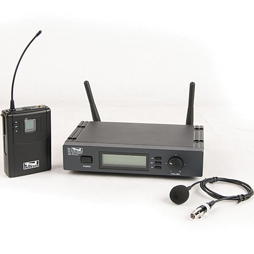 Anchor Audio UHF-7000 Wireless Microphone System with Lapel Microphone