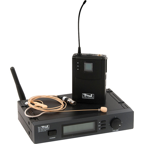 Anchor Audio UHF-7000 Bodypack System with Earset Microphone