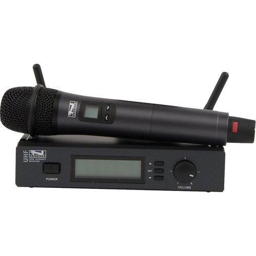Anchor Audio UHF-7000US/HH Wireless Microphone System with Handheld Microphone (540 to 570 MHz)