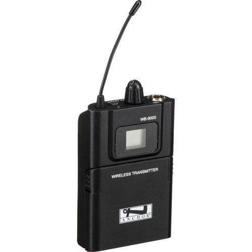 Anchor Audio WB-9000 Beltpack Transmitter for Assistive Listening 9000 Series (902 - 928 MHz)