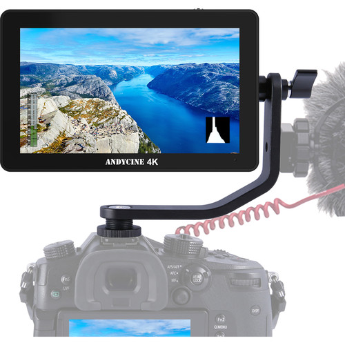 "ANDYCINE A6 Plus 5.5"" 4K HDMI In/Out 1920 X 1080 3D LUT Touchscreen Monitor"