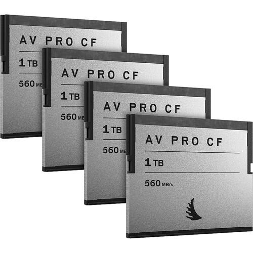 Angelbird Av Pro Cf 1 Tb  4 Pack