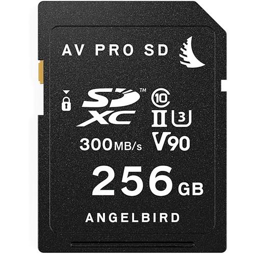 Angelbird 256GB AV Pro UHS-II SDXC Memory Card