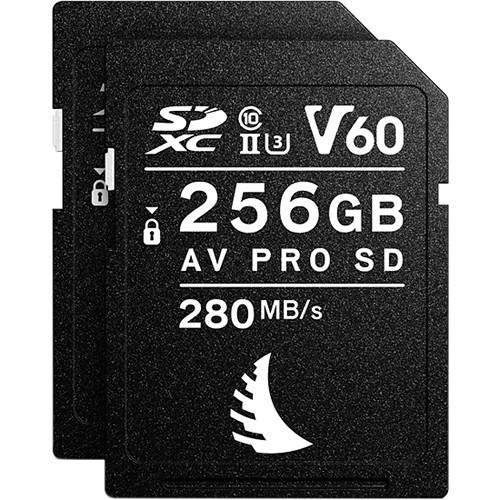 Angelbird 256GB AV Pro MK2 UHS-II SDXC Memory Card (2-Pack)