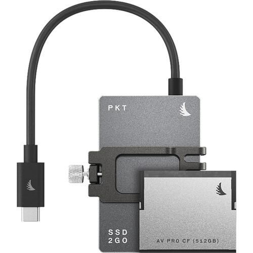 Angelbird 1.512TB Match Pack for Blackmagic Pocket Cinema Camera 6K (Graphite Gray)